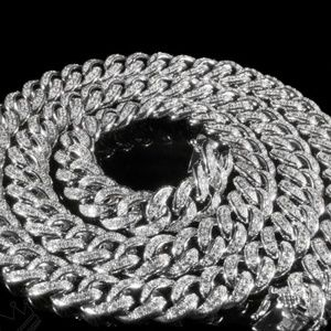 """Other - ICED Out Miami Cuban Link White Gold Chain 24"""""""